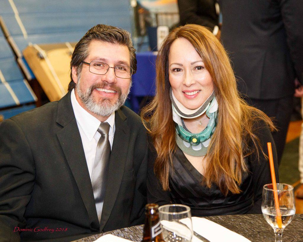 Ponzinis Tony and Wife
