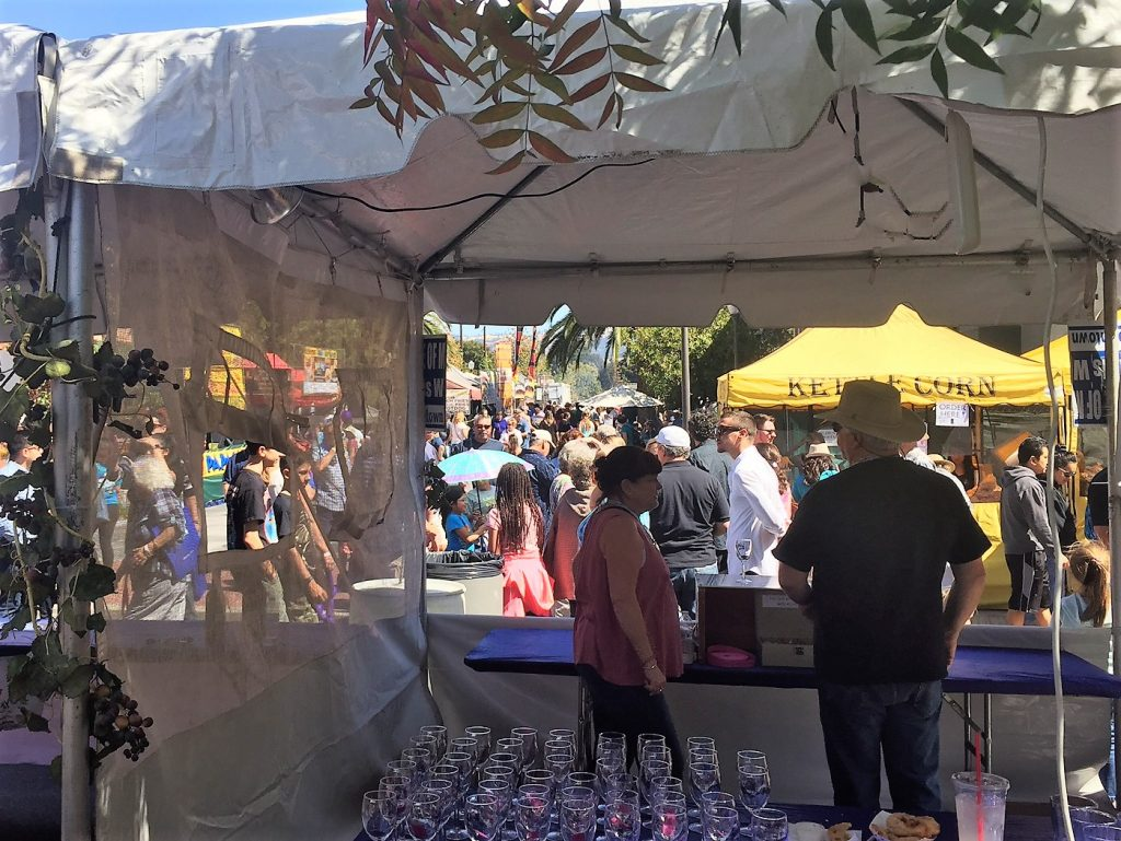2017 Taste ticket booth