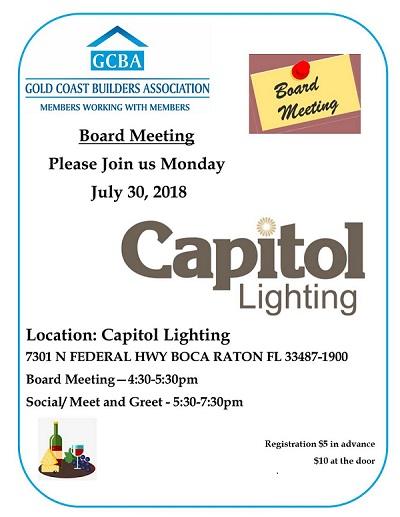 july sm board meeting