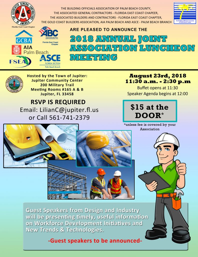 2018 BOAPBC Annual Joint Meeting Flyer update