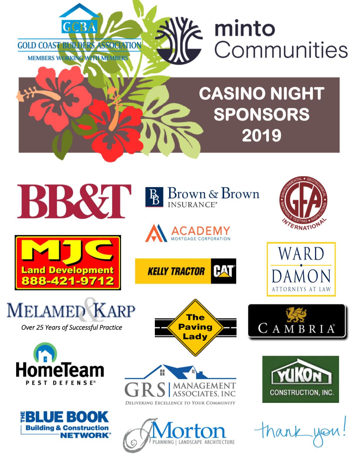 casino sponsors