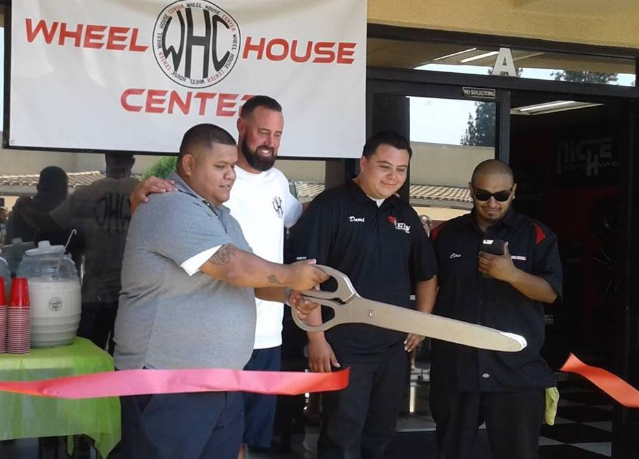 Wheel House Center Ribbon Cutting