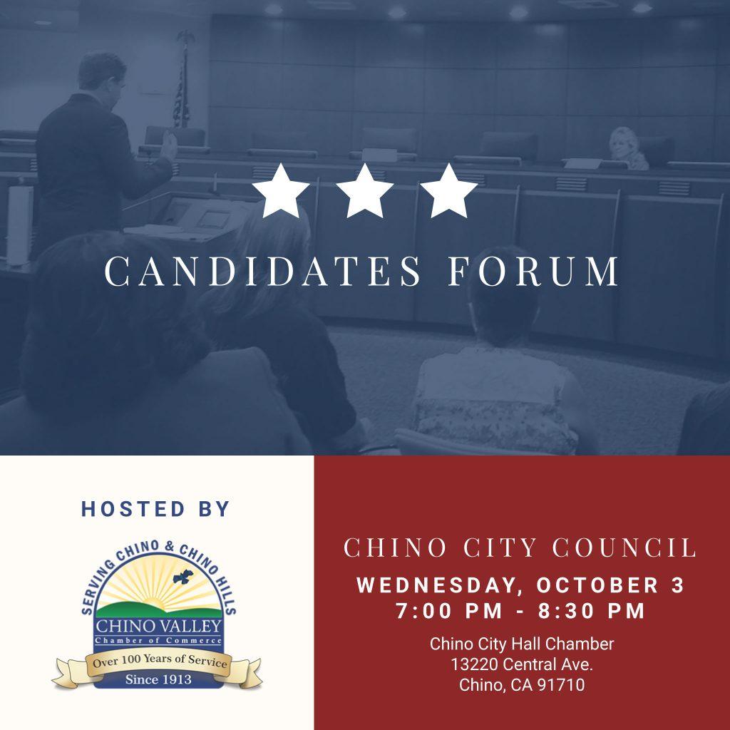 Chino Candidate Forum