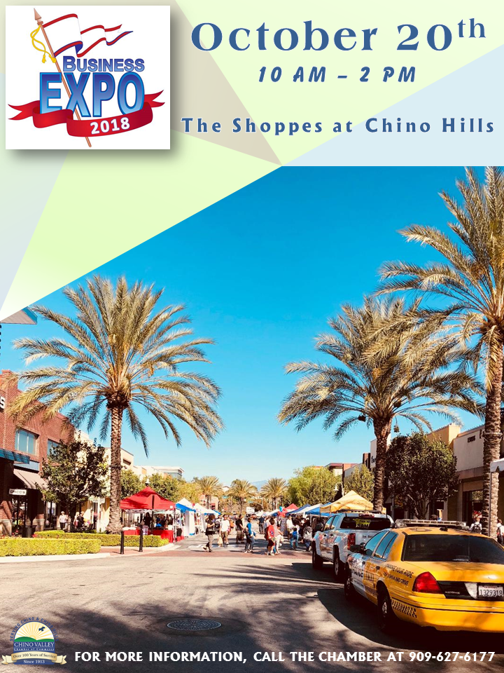 2018 Chino Valley Chamber of Commerce Business Expo Flyer