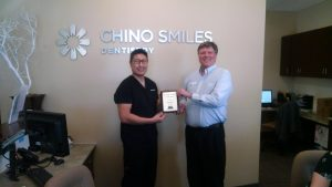 David Bare and Chino Smiles - Chino Valley Chamber of Commerce