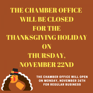 CHAMBER OFFICE CLOSED (1)