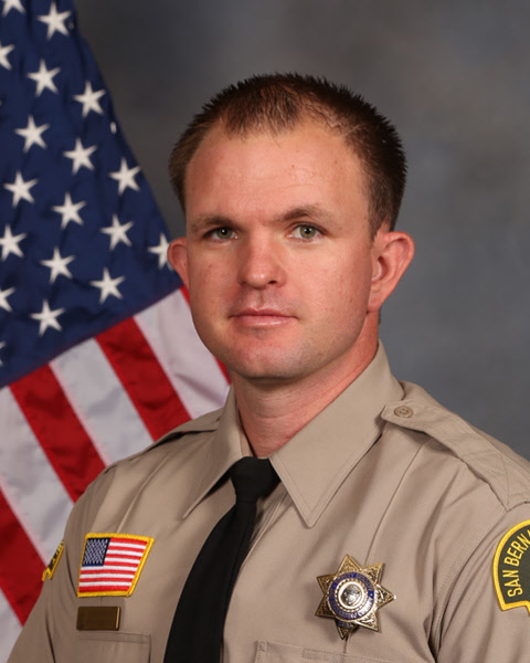 Chino Hills Police Department 2018 Deputy of the Year Deputy Eric Bradshaw