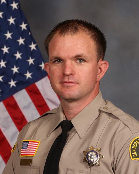 Chino Hills Police Department 2018 Deputy of the Year Deputy Eric Bradshaw