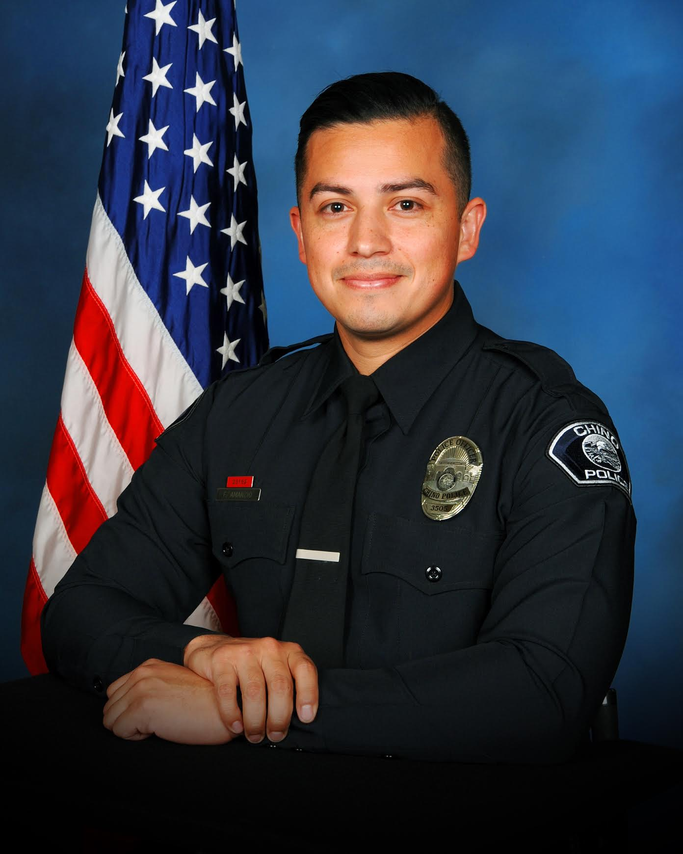 2018 Officer of the Year Officer Fortino Amancio