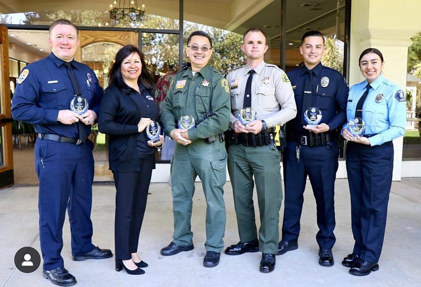 2019 Salute to Public Safety Honorees from the Chino Valley Chamber of Commerce