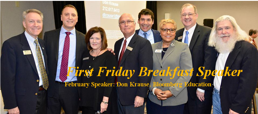 First Friday Breakfast Speaker