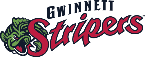 Gwinnett Stripers logo 500X197