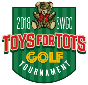 Logo for the Southwest Gwinnett Chamber 2018 Toys for Tots Golf