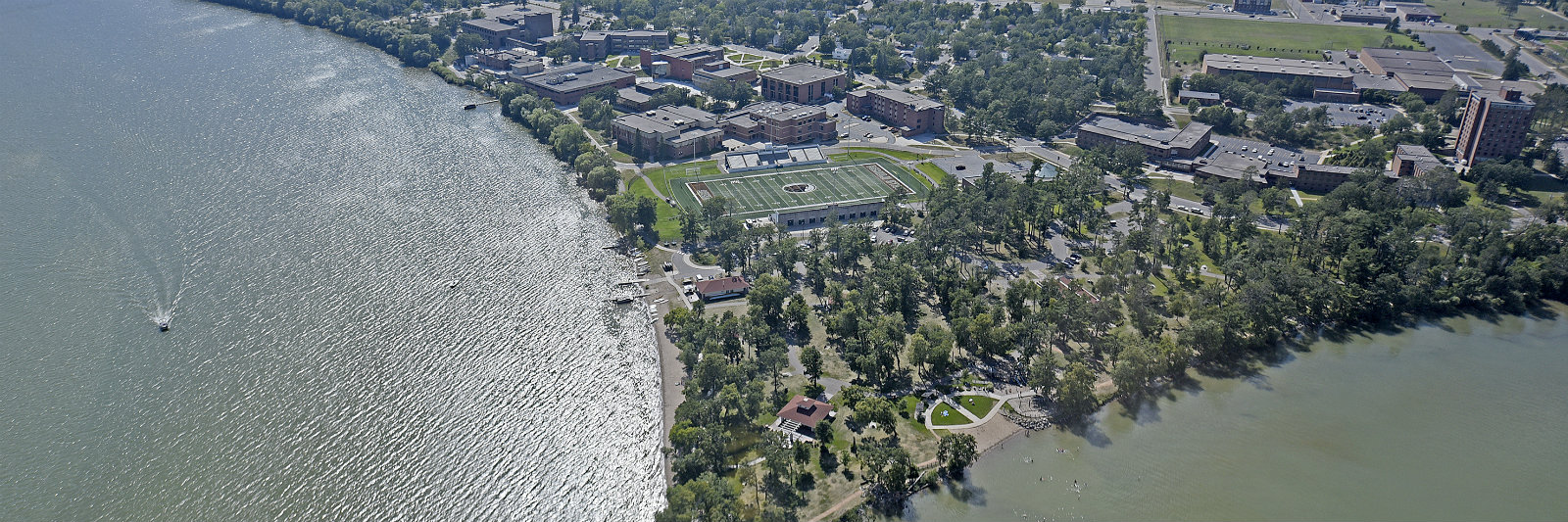 Aerial View of Bemidji