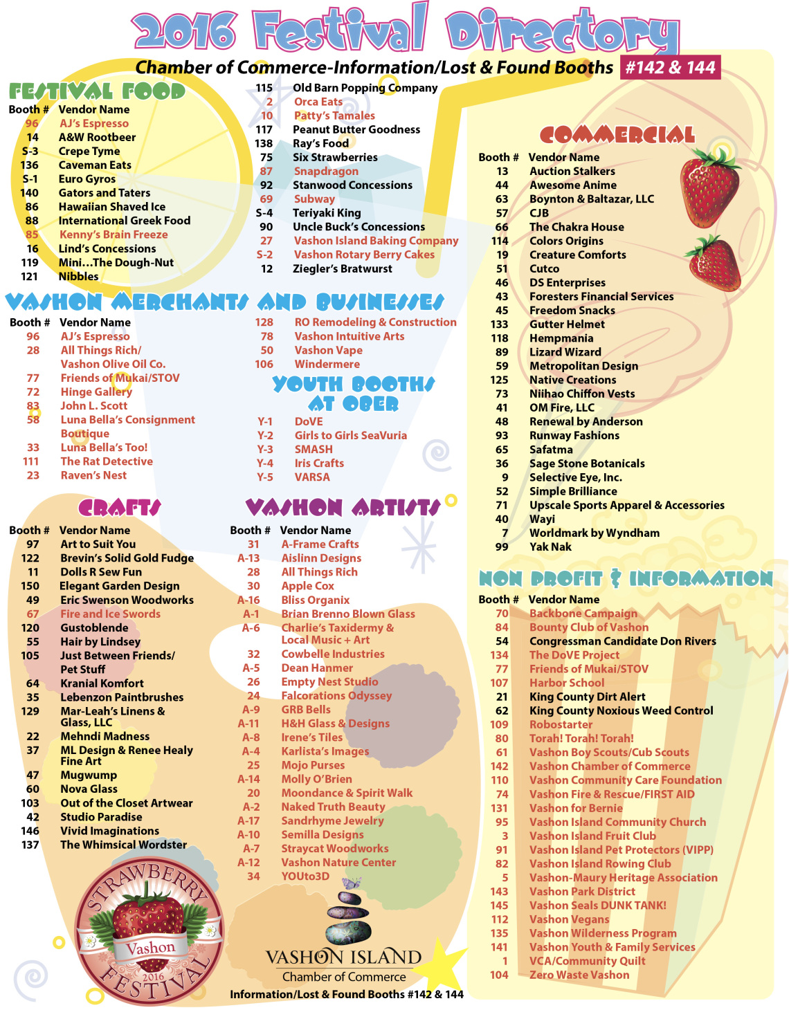 Strawberry Fest 2016 Directory.indd