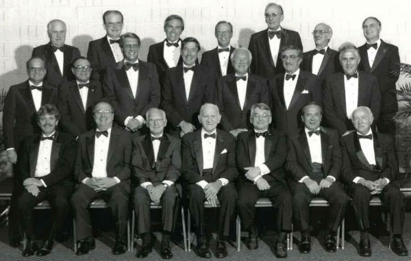 1985 past presidents group shot