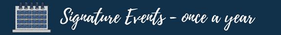 Signature Events wording