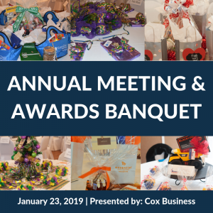 Annual Meeting & Awards Banquet. Jan. 23. Presented by Cox Business
