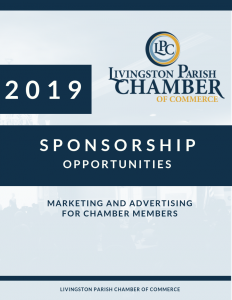 Livingston Parish Chamber Sponsor Book 2019