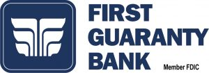 First guaranty bank ONE COLOR NAVY FDIC 2018