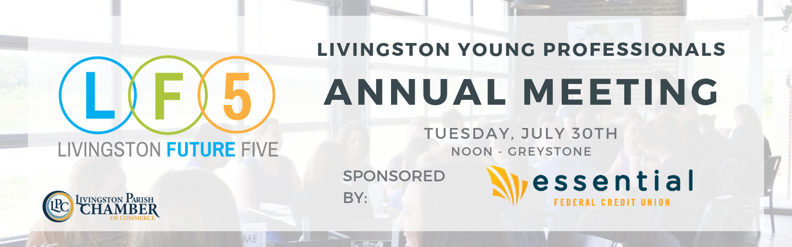LYP Annual Meeting July 30 Sponsored by Essential FCU
