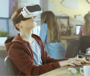 virtual reality classroom