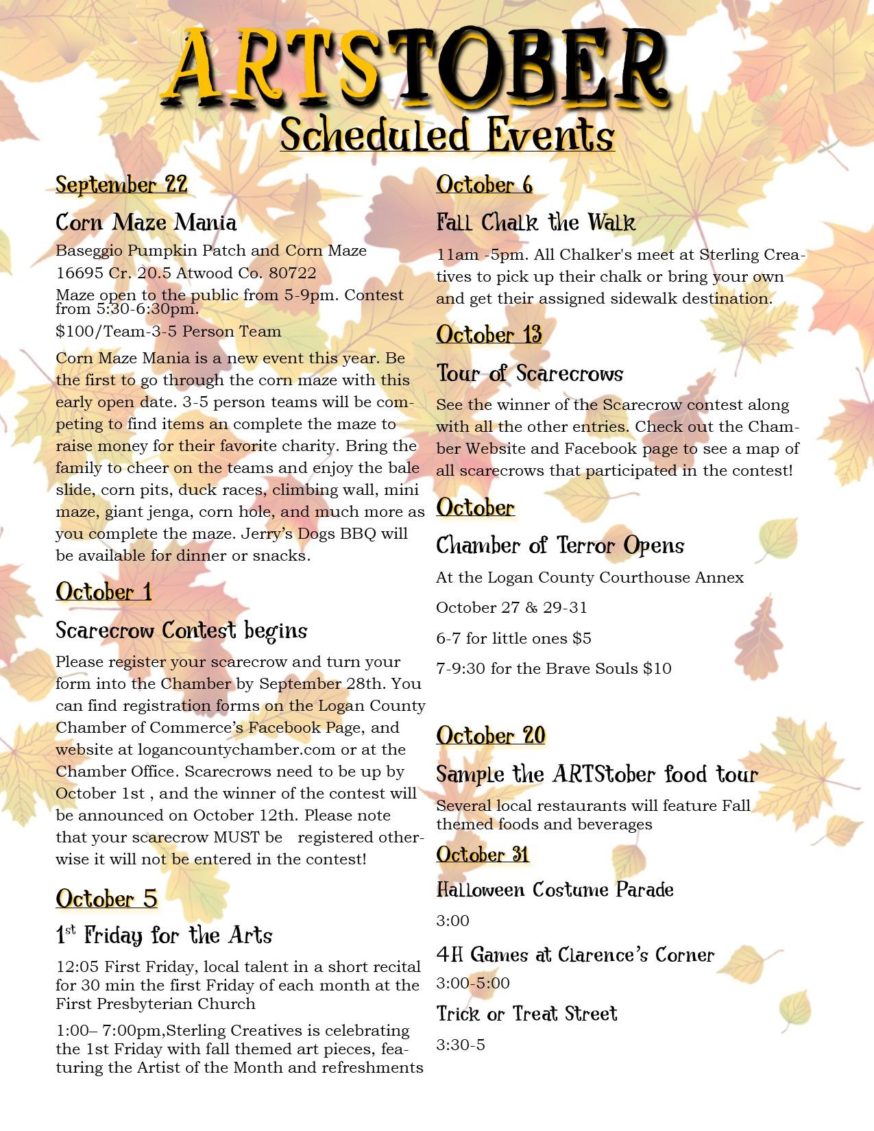 Events Schedule