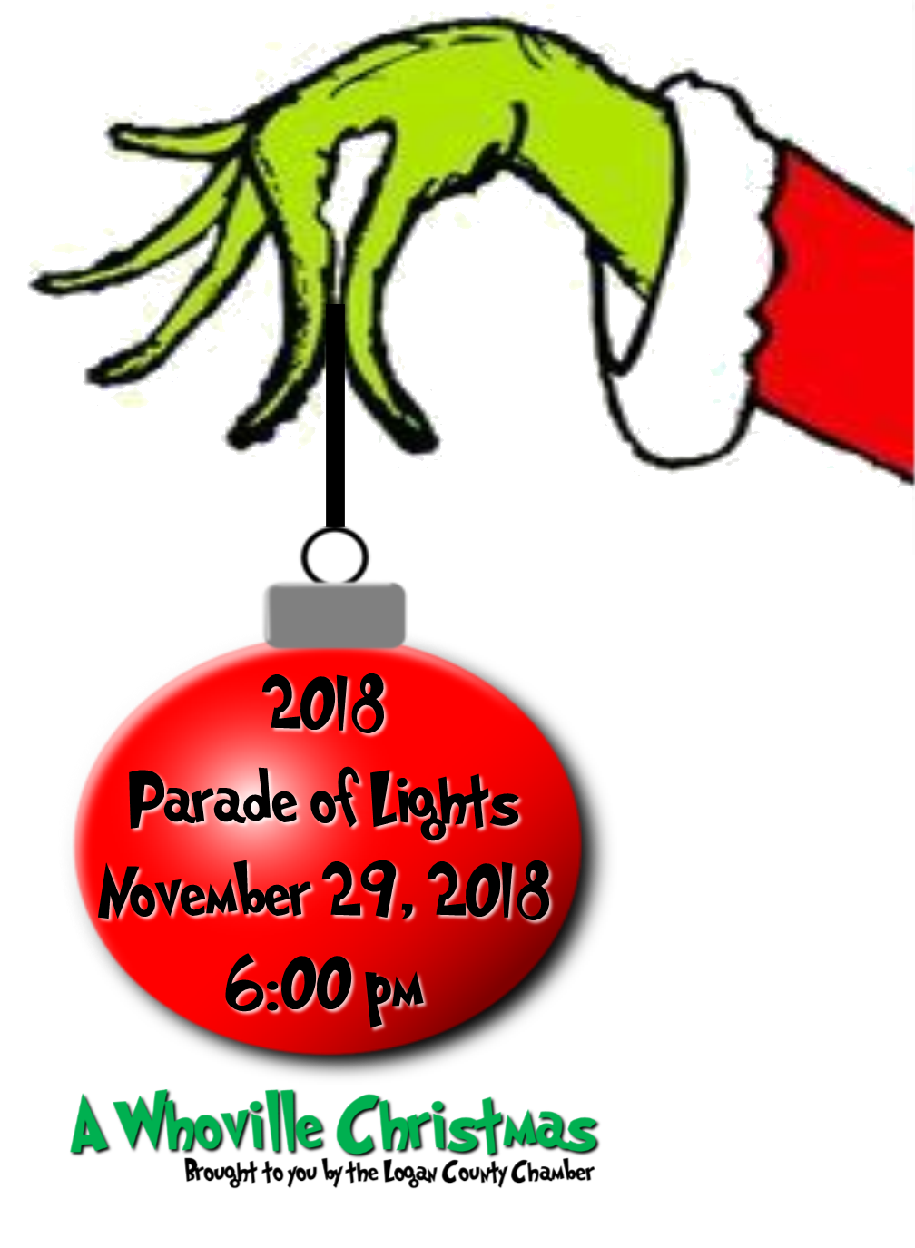parade flyer hand