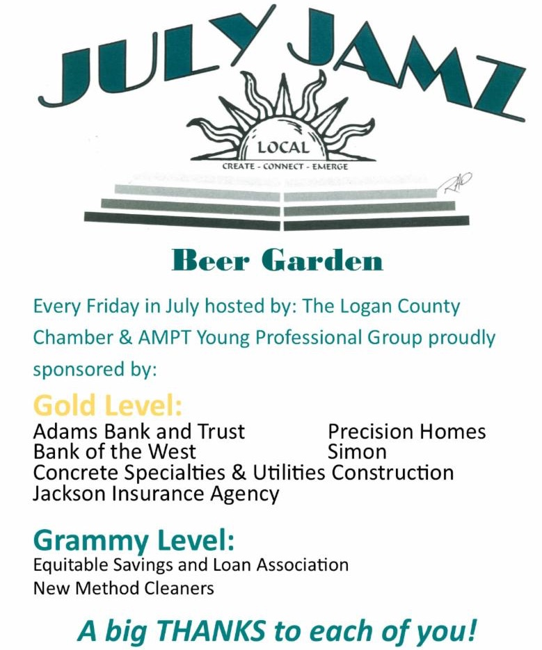 Beer Sponsors flyer