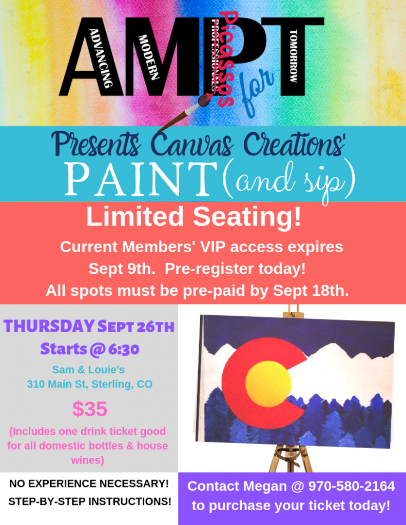AMPT Paint Flyer-Members