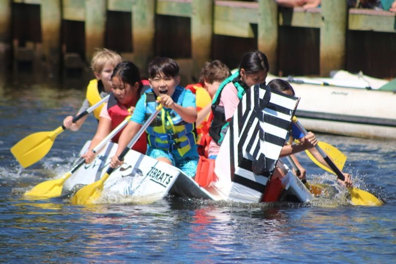 Cardboard Boat Races make a splash in Riverhead _ RiverheadLOCAL