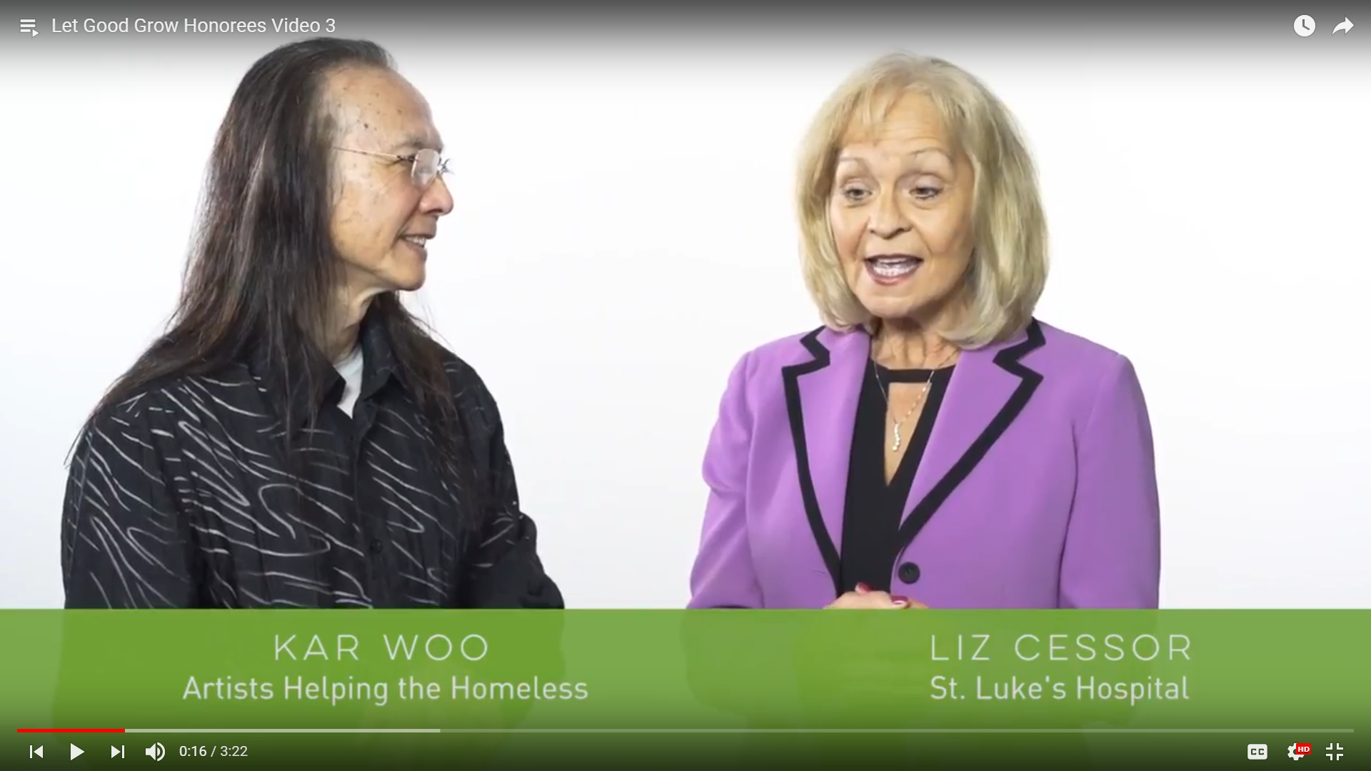 Kar Woo and Liz Cessor Nonprofit Connect Video Screenshot