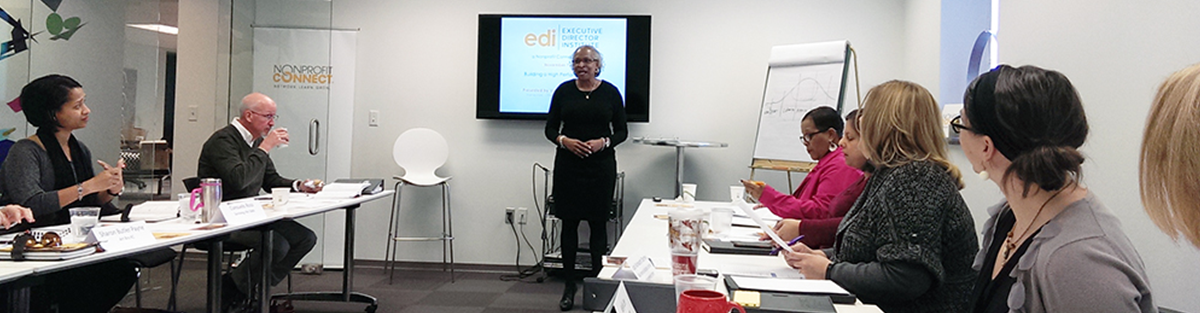 Valerie Nicholson-Watson leads professional development for Executive Director Institute