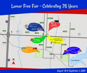 Lamar Fair Map