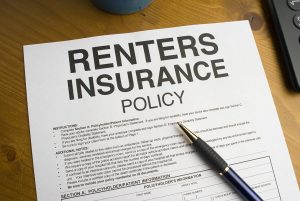 Proof of renters insurance policy