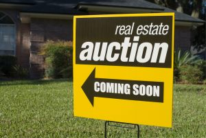 Find properties at real estate auctions