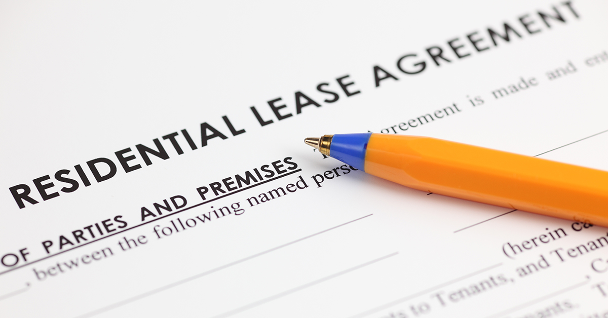 Rental agreement lease