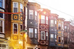 Homes on South Street Philadelphia