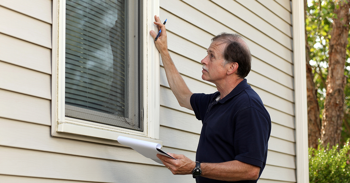 Home inspection for appraisel