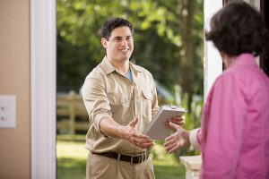 Meet with home inspector