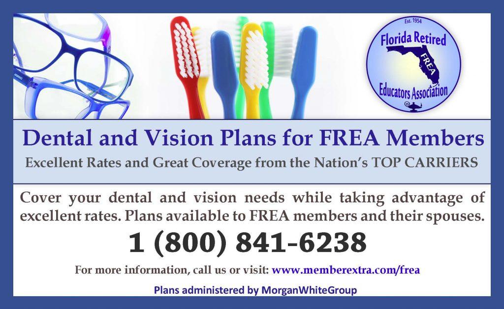 FREA Dental Vision Ad July 2015