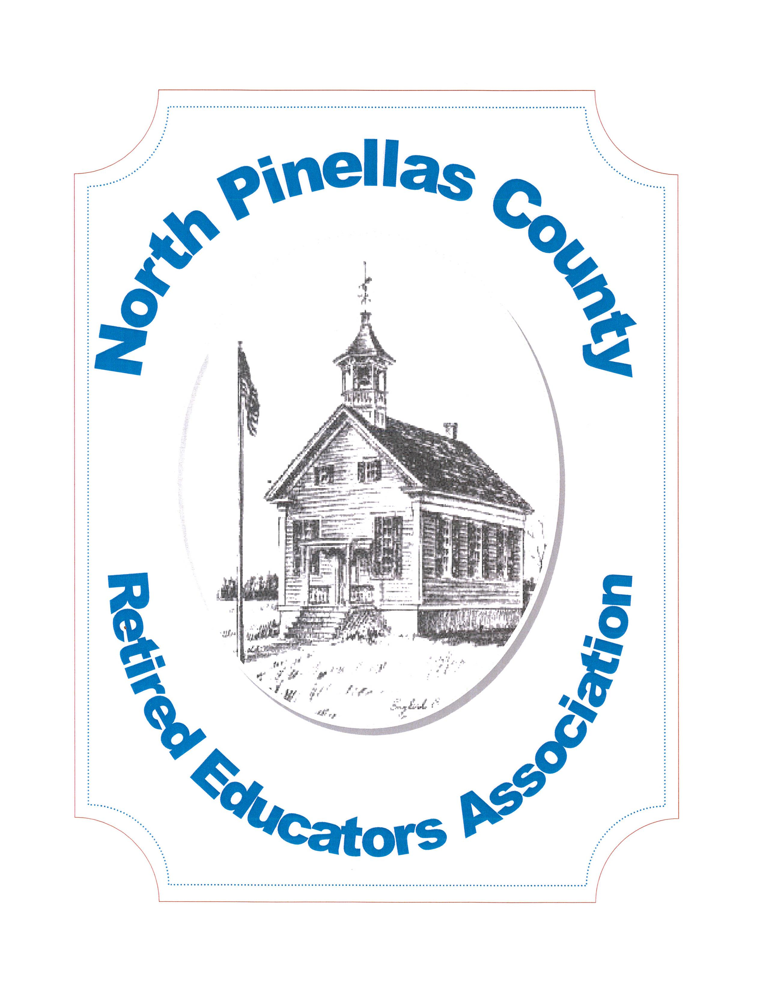 North Pinellas CREA logo schoolhouse