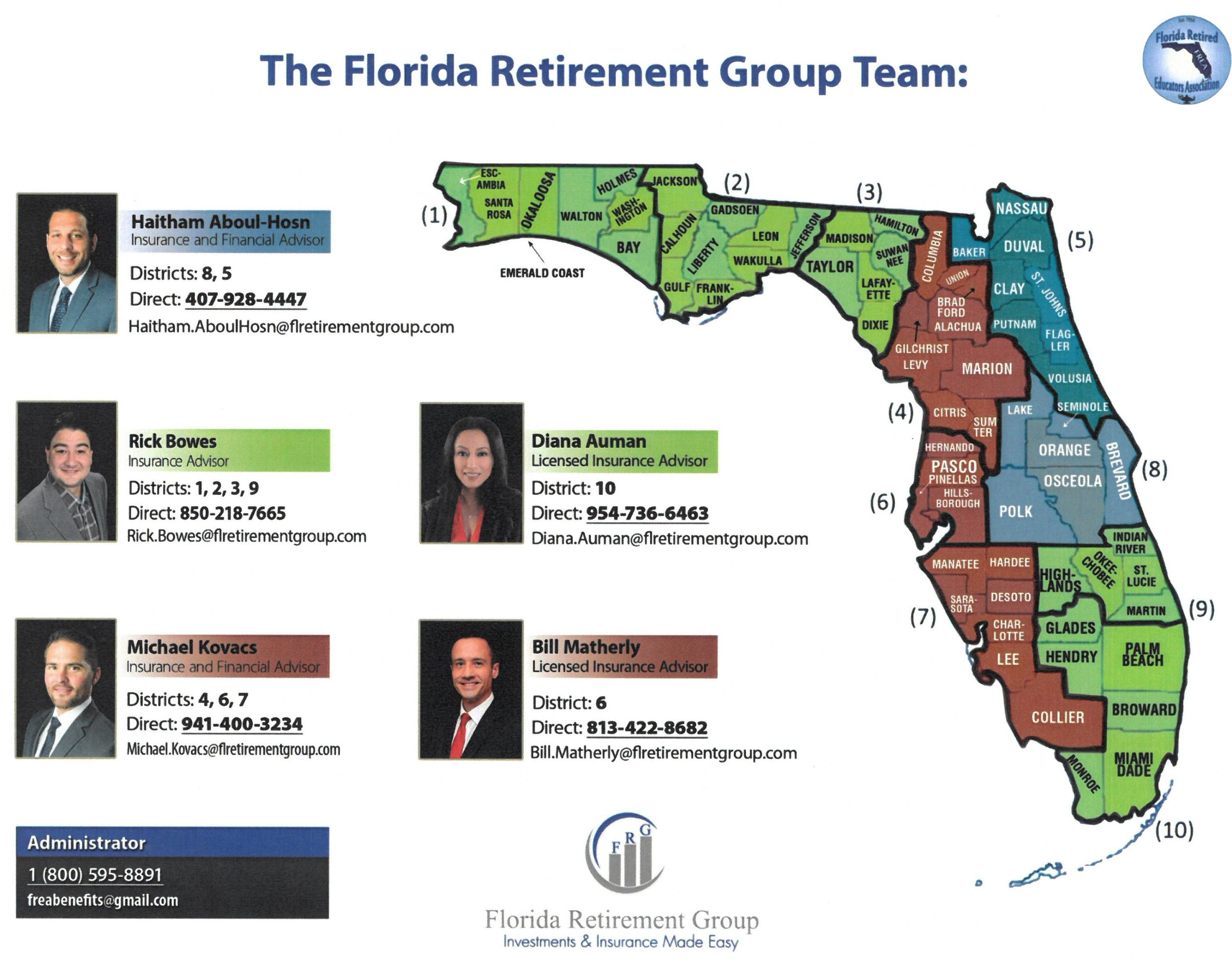 Florida Retirement Group Team