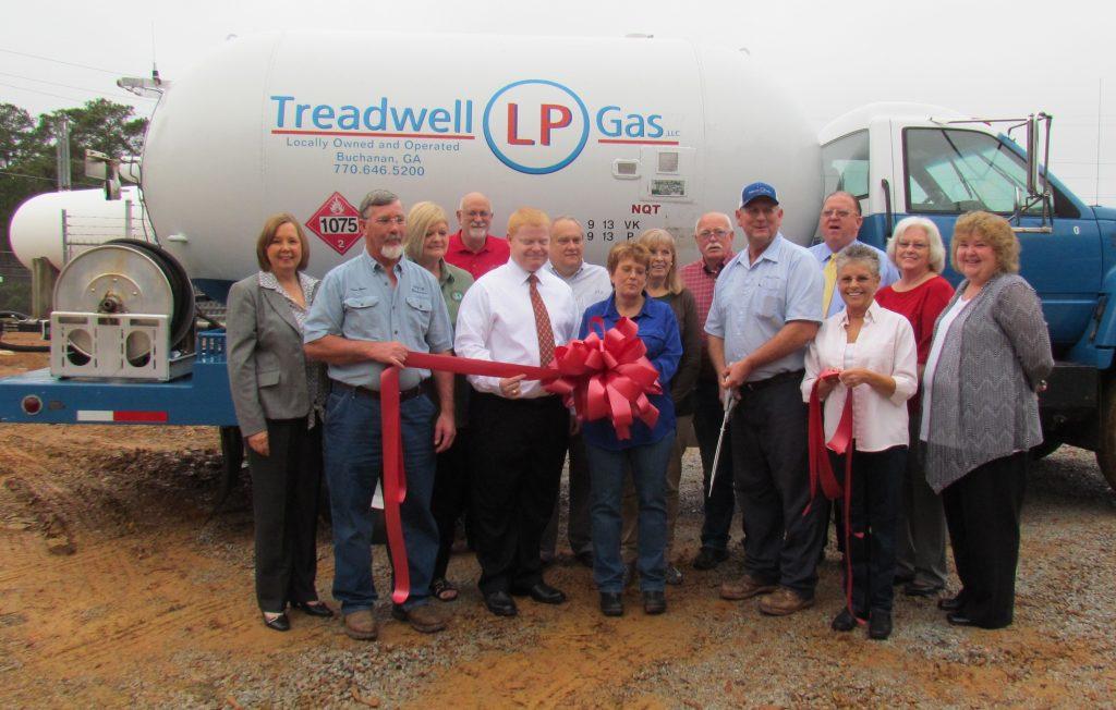 Ribbon Cutting for Treadwell LLP Gas LLC