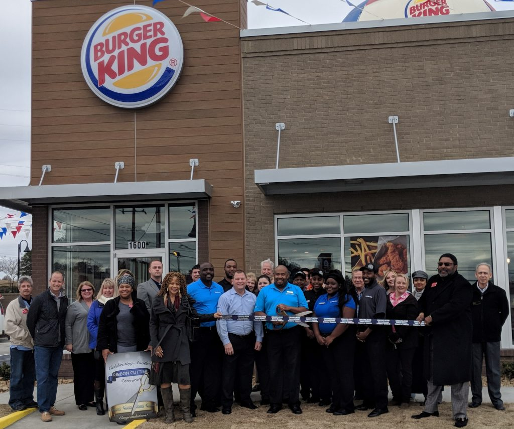 Burger King Ribbon Cutting