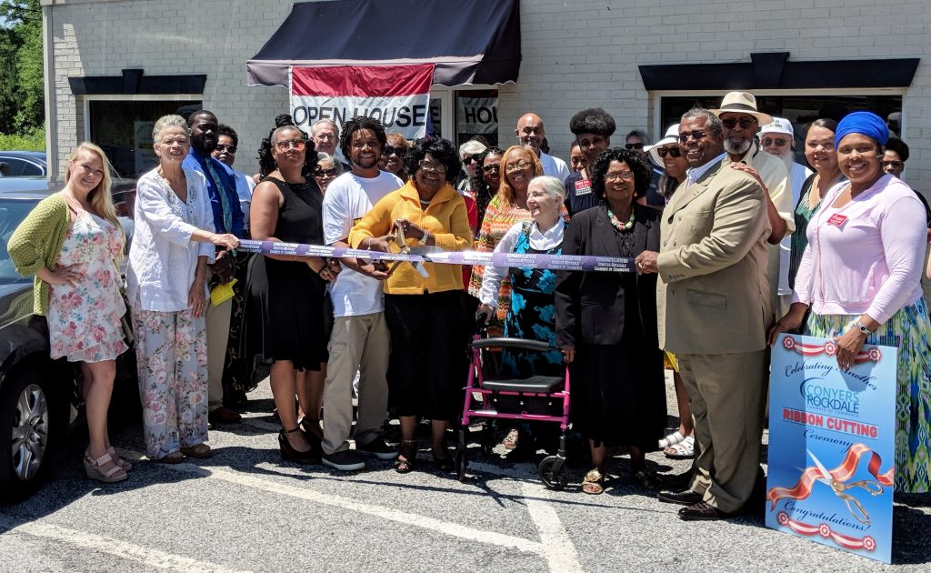 Sisters Overcomers Ribbon Cutting