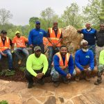 The Pro Cutters Lawnscapes volunteer team, led by Mr. Steve Bromell, provided significant expertise and leadership throughout the legacy project.