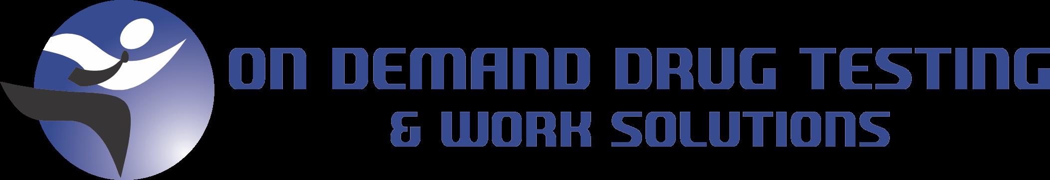 On Demand Drug Testing Logo