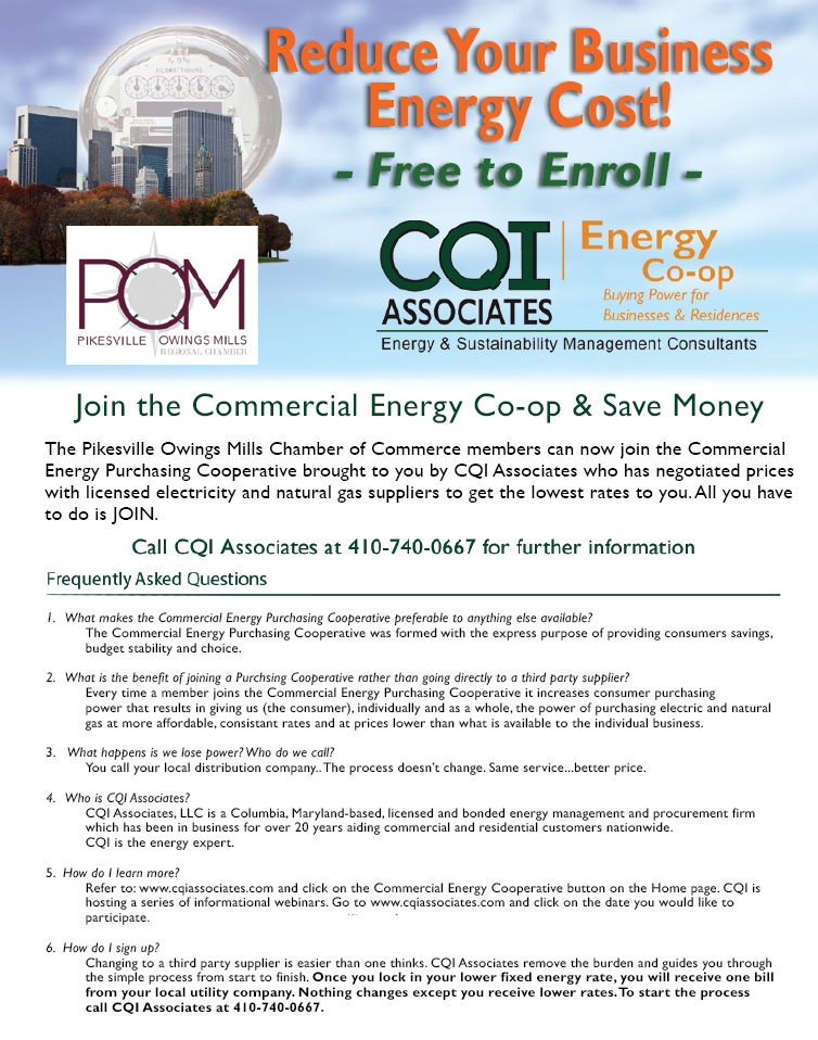 Energy Co-Op Flyer