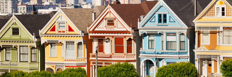 San Francisco Painted Ladys